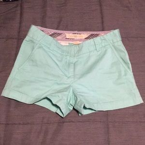 J Crew weathered Chino Classic Twill mint shorts 2